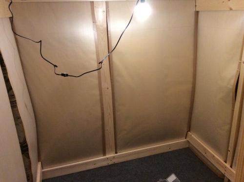 防音室の内装