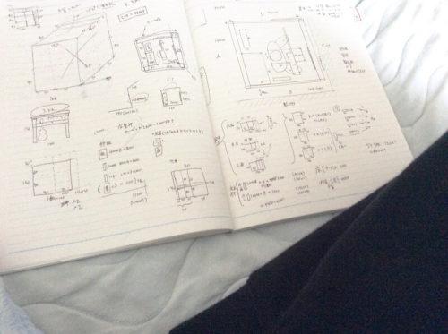 防音室の設計図
