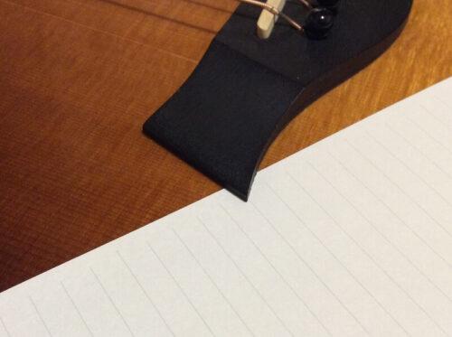 紙を使ったブリッジ浮きのチェック