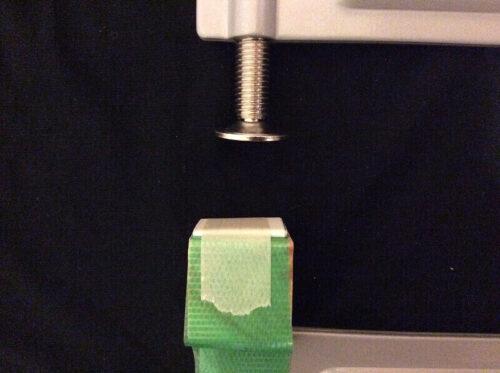 紙によるクランプのクッション材