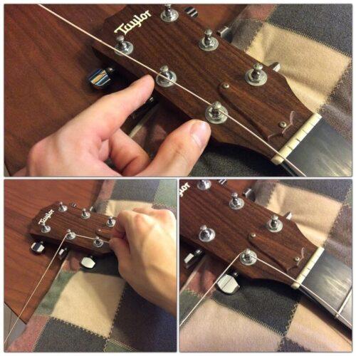 弦交換で弦を緩める目安