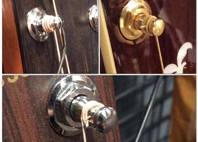 メーカーごとの弦の巻き方