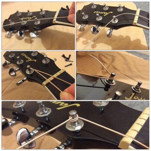 弦の巻き方の例