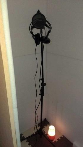 自作防音室の例1
