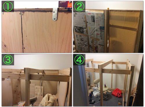 防音室を解体する様子2