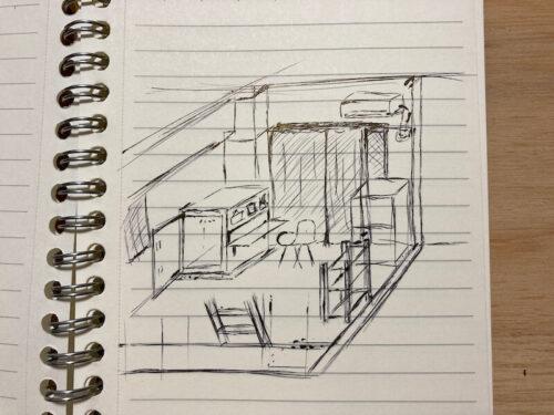 防音室(ver.2)デザイン図