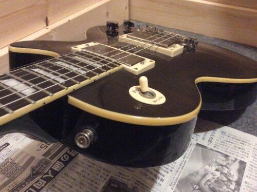 エレキギターのボディ