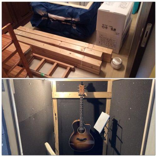 防音室の解体と新作